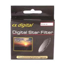 6-лучевой звездный светофильтр Alpha Digital Japan