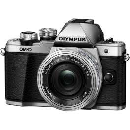 Olympus OM-D E-M10  Zoom Kit с 14-42 EZ серебро