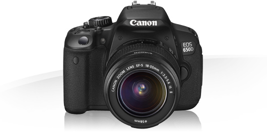 Canon 650D kit 18-55/3,5-5,6 is