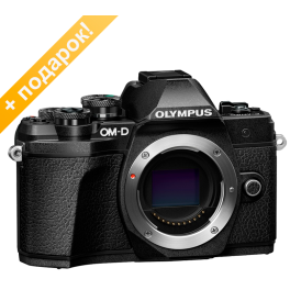 Olympus OM-D E-M10 Mark III body black