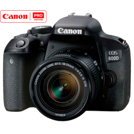 Canon EOS 800D kit 18-55/3.5-5.6 is STM