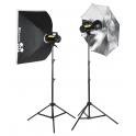 комплект освещения Quadralite Move X 300 kit