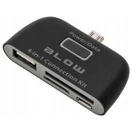 Кард-ридер BLOW для смартфона, планшета 4 в 1