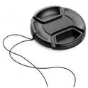 Защитная передняя крышка объектива со шнурком