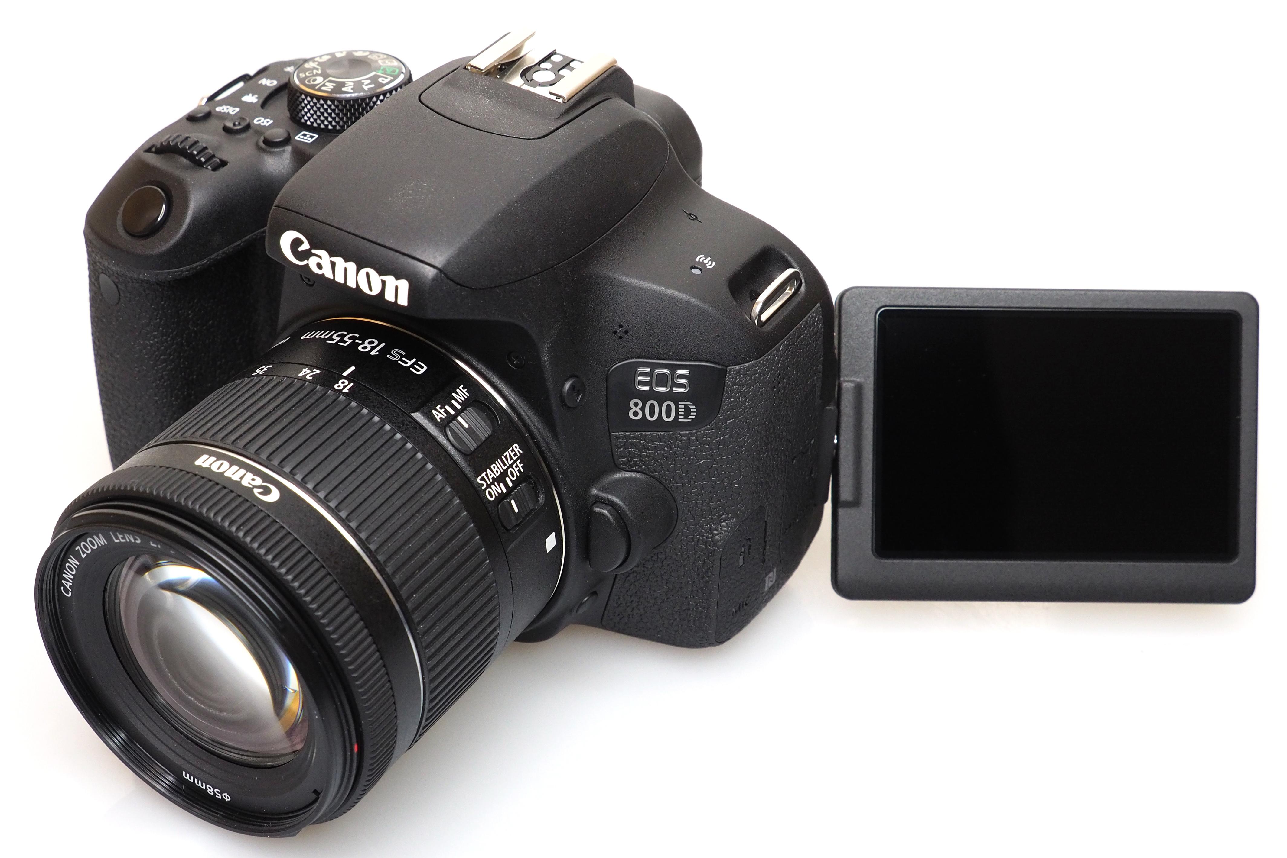 Canon 750D kit 18-55 is STM